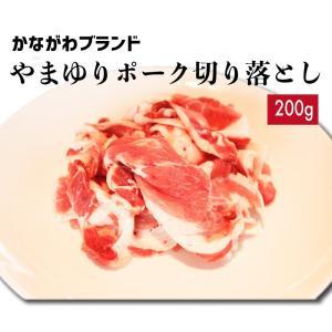 豚肉切り落とし200g やまゆりポーク かながわブランド|kadoyabokujou