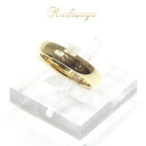 ティファニー Tiffany&Co. ルシダ バンドリング  K18YG 11.5号 4.5mm 甲丸 レディース 仕上げ済 中古|kadusaya78