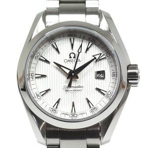 OMEGA オメガ レディース腕時計 シーマスターアクアテラ 231.10.30.60.02.001 シルバー文字盤【中古】|kadusaya78