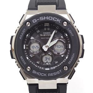 CASIO カシオ メンズ腕時計 G-SHOCK 電波ソーラー腕時計 GST-W300-1AJF G-STEEL 新品同様 kadusaya78