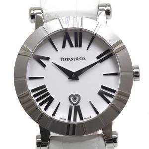 TIFFANY&Co.ティファニー レディース腕時計 アトラス Z1301.11.11A20A71A ホワイト(白)文字盤 クォーツ【中古】|kadusaya78
