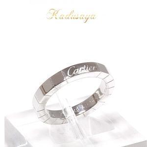 カルティエ Cartier ラニエールリング K18WG #49/9号 B4045049 仕上げ済 中古|kadusaya78