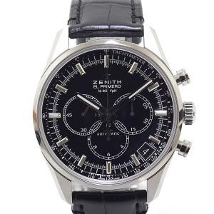 ゼニス ZENITH メンズ腕時計 エルプリメロ クラシック 36000VPH 03.2080.400/2 ブラック文字盤 未使用品 kadusaya78
