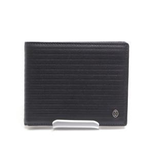 Cartier カルティエ 二つ折り札入れ L3001320 ブラック 未使用品|kadusaya78