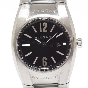 BVLGARI ブルガリ レディース腕時計 エルゴン EG30S ブラック(黒)文字盤 クォーツ【中古】|kadusaya78