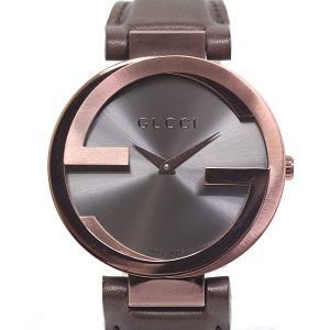 GUCCI グッチ ボーイズ腕時計 インターロッキング YA133309 グレー文字盤 クォーツ【中古】|kadusaya78
