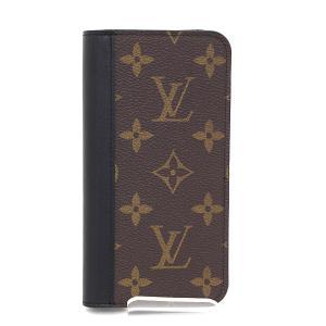 ルイヴィトン LOUIS VUITTON IPHONE X&XS・フォリオ  M68687 iPhone X XS用 手帳型アイフォンカバー【中古】Sランク|kadusaya78