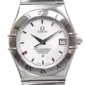 OMEGA オメガ メンズ腕時計 コンステレーション 1516.76 2Pルビー ホワイトシェル文字盤 スイス限定モデル【中古】|kadusaya78