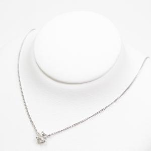 TASAKI/タサキ/田崎真珠 プラチナ ダイヤモンド ペンダント Pt850/ダイヤモンド(0.53ct) 39.5/36cm 1粒ダイヤ ネックレス 仕上げ済 中古|kadusaya78