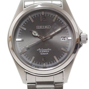 SEIKO セイコー メンズ腕時計 Tic TAC 35周年記念モデル 4R35-02R0 グレー文字盤 自動巻き【中古】 kadusaya78