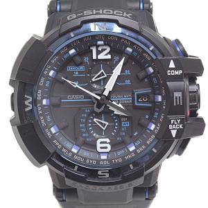 CASIO カシオ メンズ腕時計 G-SHOCK スカイコックピット GW-A1100FC-1AJF タフソーラー ブラック(黒)文字盤【中古】 kadusaya78