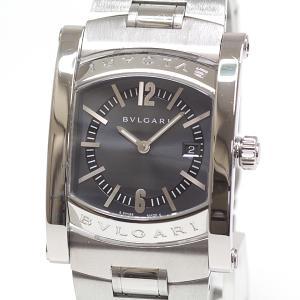 BVLGARI ブルガリ ボーイズ腕時計 アショーマ AA39S グレー文字盤 クォーツ【中古】|kadusaya78