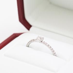 カルティエ Cartier エタンセル ドゥ カルティエ ソリテール リング ダイヤモンド0.18ct Pt950 【中古】Aランク|kadusaya78