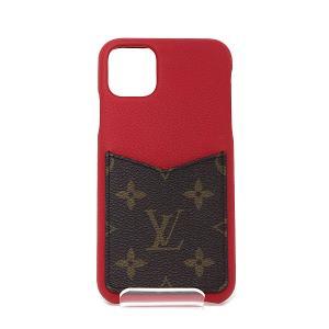 ルイ・ヴィトン Louis Vuitton IPHONE・バンパー 11 PRO MAX M69098 スカーレット BC0270 【中古】Aランク|kadusaya78