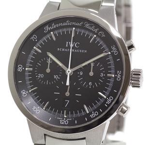 IWC アイダブリューシー メンズ腕時計 GSTクロノグラフ クォーツ IW372702 ブラック(黒)文字盤 【中古】|kadusaya78