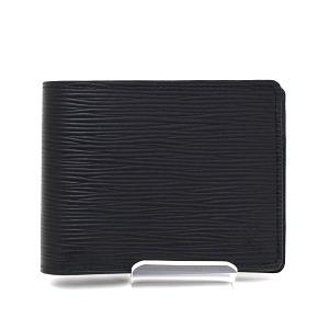 ルイ・ヴィトン Louis Vuitton ポルトフォイユ・ミュルティプル M60662 エピ ノワール 二つ折り財布 ブラック 未使用品|kadusaya78