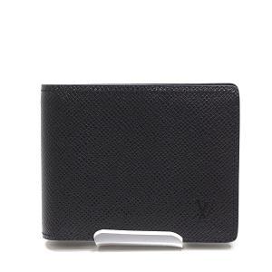 LOUIS VUITTON ルイヴィトン タイガ ポルトフォイユ・スレンダー 二つ折り札入れ M30539 ノワール(黒)未使用品|kadusaya78
