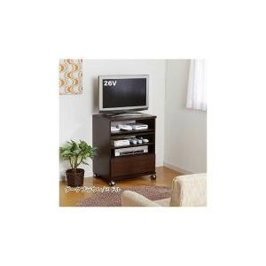 コンパクトテレビワゴン B  ミドルタイプ   CM-WH   CM-BR          送料込み  |kaede-shopmart