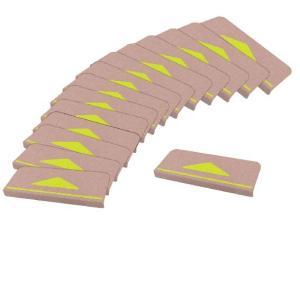 折り曲げ付階段マット 三角マーク付 55×21cm46923      送料込み  |kaede-shopmart