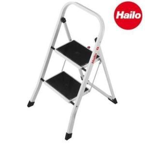 Hailo(ハイロ) K20 2段 折りたたみ脚立(きゃたつ)    送料込み  |kaede-shopmart