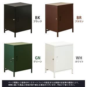 DELIO宅配ボックス大容量1ドア BK/WH/BR/GN JAC-50 ポスト    送料込み   荷物対応サイズ(約) 40 × 37 × 51 センチ 容量 80 L   |kaede-shopmart