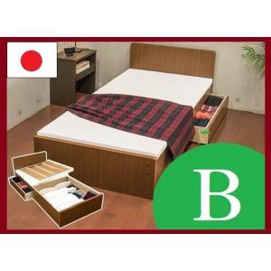 パネルベッド 319-B 319B 品番113402 SS セミシングルベッド 日本製 布団でもスプリングマットでもウレタンマットでも使用できるコンパクトベッド|kaedeinterior