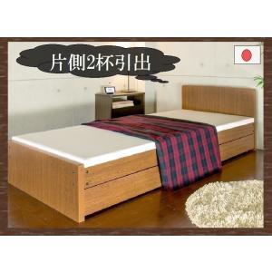 パネルベッド カーリ 品番113411 SS セミシングルベッド 掃除ロボット対応 スプリングベッド マットレスベッド ボンネルコイルマットレス 脚付きベッド|kaedeinterior
