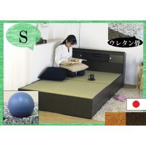 和室でも洋室でも似合う畳ベッド。オール日本製商品。イ草仕様の日本の香りが漂うデザインベット。ニトリ ...