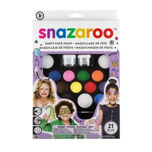 snazaroo フェイスペイント キット パーティーパック|kaedenomori