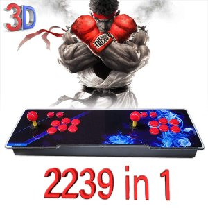 最新 2239 in 1 パンドラボックス 7S 家庭用アーケードゲーム機 アーケードコントローラー 筐体コンソール パンドラキー [英語版]|kaedenomori