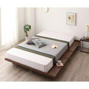 頑丈デザインすのこベッド RinForza リンフォルツァ プレミアムポケットコイルマットレス付き ステージ セミシングル フレーム幅100[L][00]