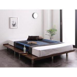 頑丈デザインすのこベッド T-BOARD ティーボード プレミアムポケットコイルマットレス付き ステージ セミシングル フレーム幅100[L][00]