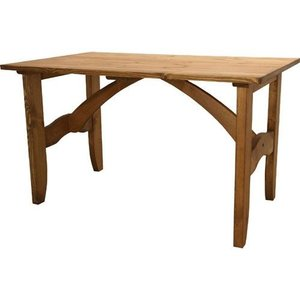 天然木製ダイニングテーブル フォレ 幅120cm 引出し付 天然ダイニングテーブル フォレ 幅120cm 引出し付 cfs-512|kag-deli