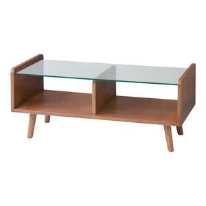 ガラスリビングテーブル フレック 幅90cm 強化ガラス センターテーブル テーブル テーブルセンター|kag-deli