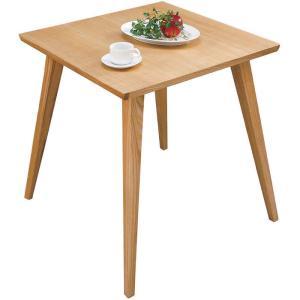 木製ダイニングテーブル 幅65cm ナチュラル 木製ダイニングテーブル 幅65cm ナチュラル cl-786tna|kag-deli