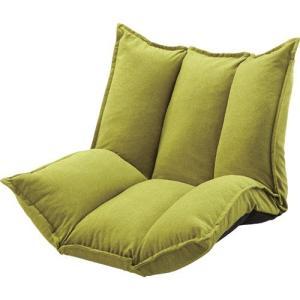 1人掛けマルチリクライニングソファ 幅100cm 布張 グリーン 1人掛けマルチリクライニングソファ 幅100cm 布張 グリーン|kag-deli