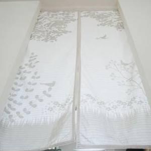 北欧 風 のれん 幅85 長さ150  ( 暖簾 パーテーション 目隠し 間仕切り カーテン シェード 暖簾カーテン カフェカーテン スクリーン 突っ張り つっぱり )の写真