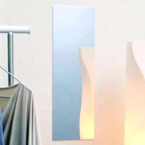 姿見 ウォール ミラー 全身鏡 メイク 化粧 壁 貼る ステッカー フィルム シール シート 割れな...