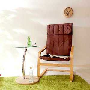 パーソナルチェア ソファ 1人掛け 1P アームチェア 肘付き 肘置き 肘掛け リラックスチェア ブラウン 茶色 椅子 チェア イス いす ハイバック ダイニングチェアの写真