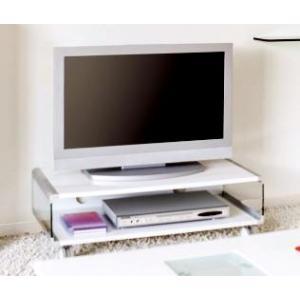 テレビ台 ホワイト 白 ( ローボード テレビボード AVラ...