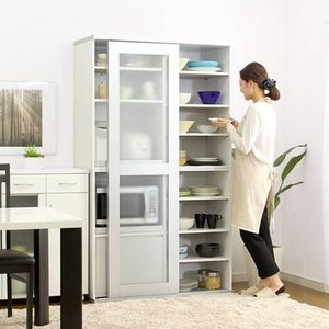 関連語 安い おしゃれ 北欧 食器棚 キッチン収納 レンジ台 カップボード レンジワゴン ダイニング...