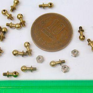 真鍮製ハンドレールナップ|kagaku