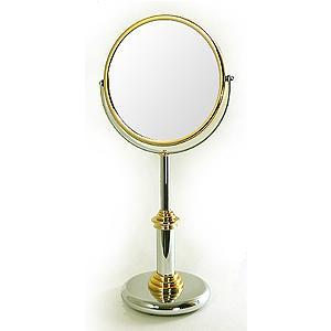拡大鏡 両面鏡 ポムドール 卓上鏡 スタンドミラー(鏡 ミラー  卓上 化粧鏡 スタンド 卓上):9d0.81.04.00d3|kagami