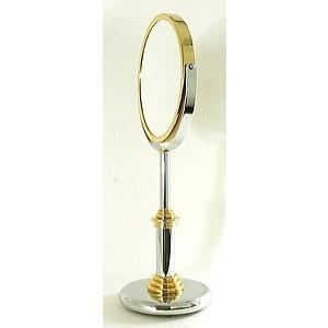 拡大鏡 両面鏡 ポムドール 卓上鏡 スタンドミラー(鏡 ミラー  卓上 化粧鏡 スタンド 卓上):9d0.81.04.00d3|kagami|02