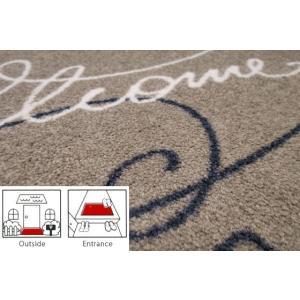 玄関マット エントランスマット 玄関敷き(屋外、屋内兼用)  コイヤーマット 屋外 屋内 洗える モダン 屋外用 ゴム 玄関シート :Ak015tA|kagami|03