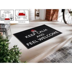 玄関マット エントランスマット 玄関敷き(屋外、屋内兼用)  コイヤーマット 屋外 屋内 洗える モダン 屋外用 ゴム 玄関シート :Ak024tA|kagami