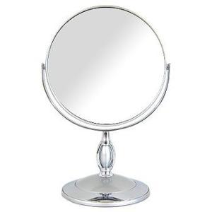 拡大鏡 両面鏡 卓上鏡 スタンドミラー(鏡 ミラー  卓上 化粧鏡 スタンド 卓上) :Bd7/806SdV|kagami