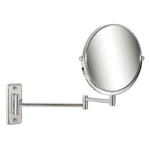 伸縮 式 鏡 ミラー スイングミラー アームミラー スウィングミラー(エクステンションミラー ホテルミラー 拡大鏡 両面 両面鏡):CE-GcE108r6(片面が拡大鏡) kagami