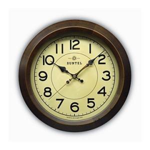 時計 クロック 掛け時計 掛時計 壁掛け時計( 電波時計、電波掛け時計 )( アンティーク、レトロなデザイン ):DsQL68t2AN|kagami
