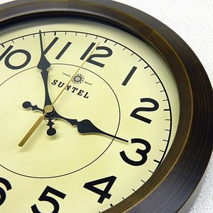 時計 クロック 掛け時計 掛時計 壁掛け時計( 電波時計、電波掛け時計 )( アンティーク、レトロなデザイン ):DsQL68t2AN|kagami|02